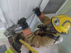 Firefighters get hands-on training in real homes