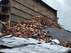 Bourbon barrels smashed after warehouse collapse