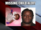 Missing Child Alert issued for 1-month-old