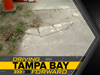 Broken sidewalk causes issue for Tampa disabled