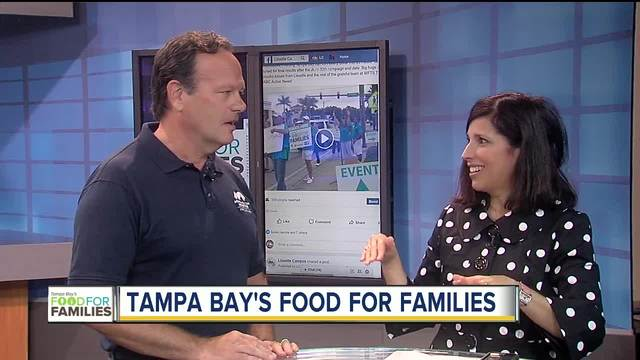 Positively Tampa Bay 15- Food for Families