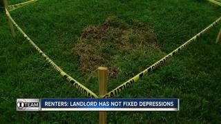 Family says landlord ignored sinkhole concerns