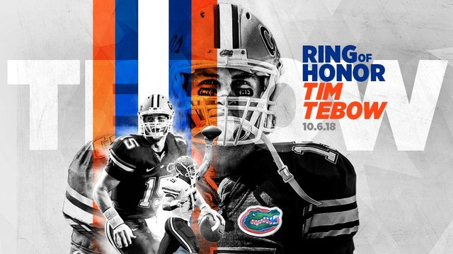wholesale dealer ae380 56bf5 Tim Tebow to be inducted into University of Florida ...