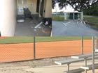 Vandals destroy property at little league fields