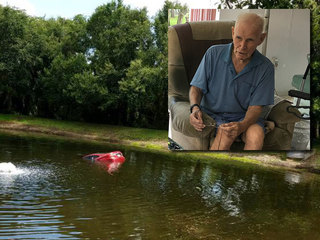 91-year-old home recovering after pond rescue