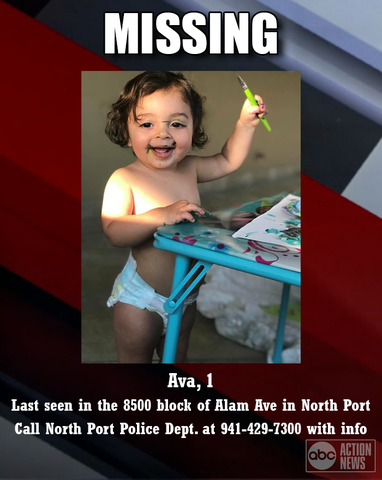 Missing 1-year-old found in canal