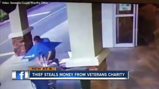 Hundreds stolen from Sarasota veterans group