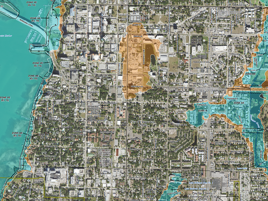 fema releases new flood hazard maps for pinellas county abcactionnewscom wfts tv