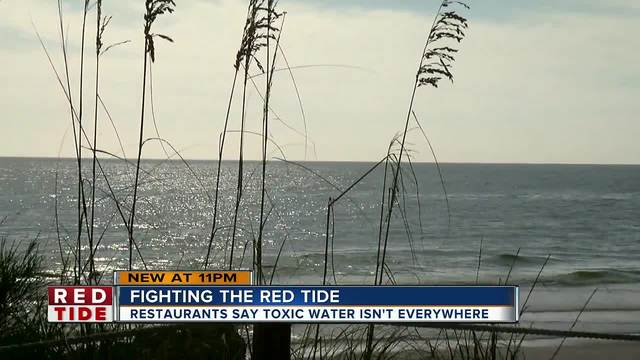 Restaurants impacted by red tide starting new initiative to get people…
