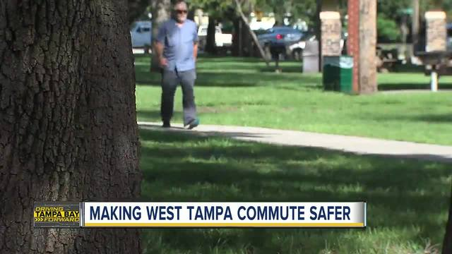 Planned improvements seek to make West Tampa safer for pedestrians- cyclists