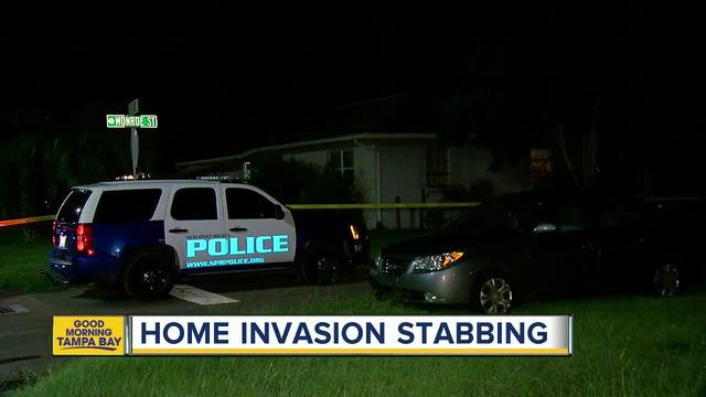 Man stabbed in New Port Richey home invasion