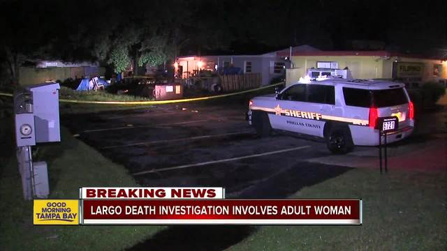 Deputies- Woman found dead inside Pinellas County residence