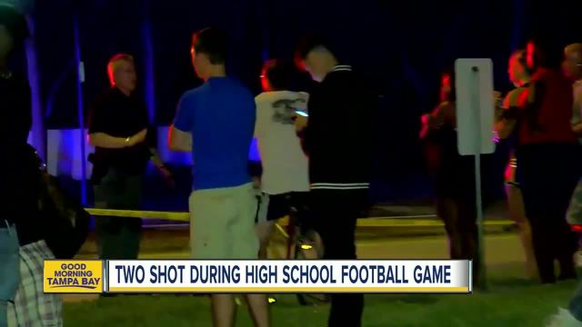 Two people shot during high school football game in West Palm Beach- Florida