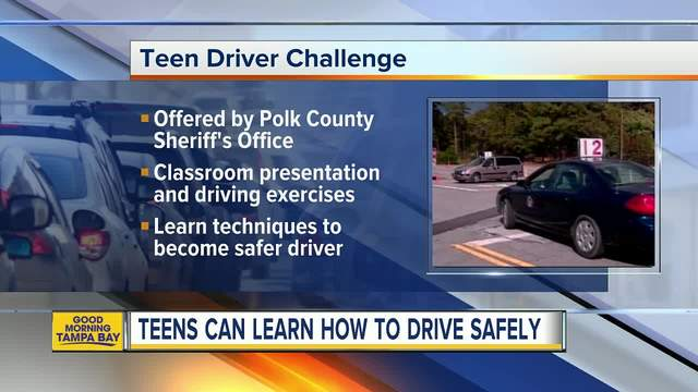 Polk and hillsborough county deputies offer to teach teens for Polk county motor vehicle registration