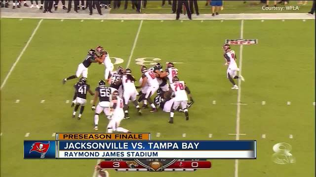 Tim Cook Runs For Two Touchdowns, Jacksonville Jaguars Beat Tampa Bay  Buccaneers 25 10