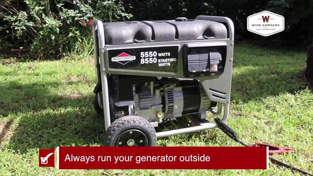Generator Safety during a storm -Tracking the Tropics Quick Tip