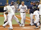Rays beat Indians on Choi's walk-off home run
