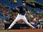 Snell takes no-hit bid into 7th, earns 19th win