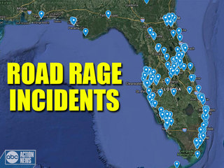 Florida leads the nation in road rage cases