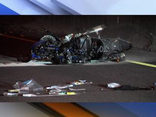 Motorcyclist dead after 100 mph crash