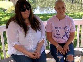 Stepmom, daughter fighting cancer together
