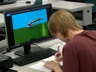 Local college student designs 'hurricane plane'