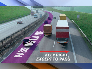 Counties cracking down on slow left lane drivers