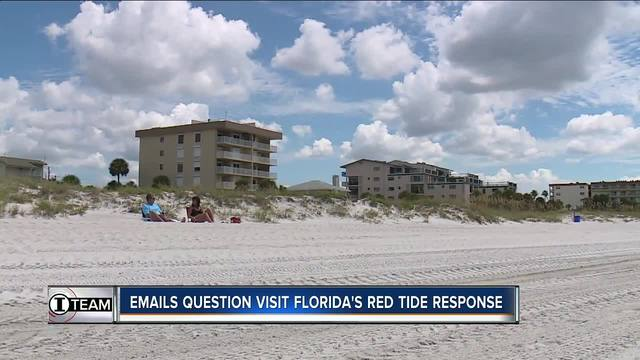 FL tourism officials questioned over red tide response- timeline