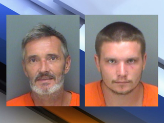 Detectives: Father, son steal safe then leave it