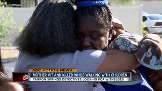 Mother dies after being hit by truck