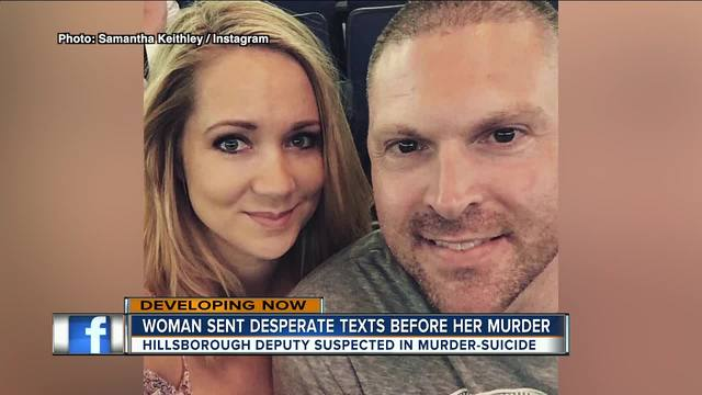 Image result for Wife sent text messages to friend before she was allegedly killed by her husband, a HCSO deputy