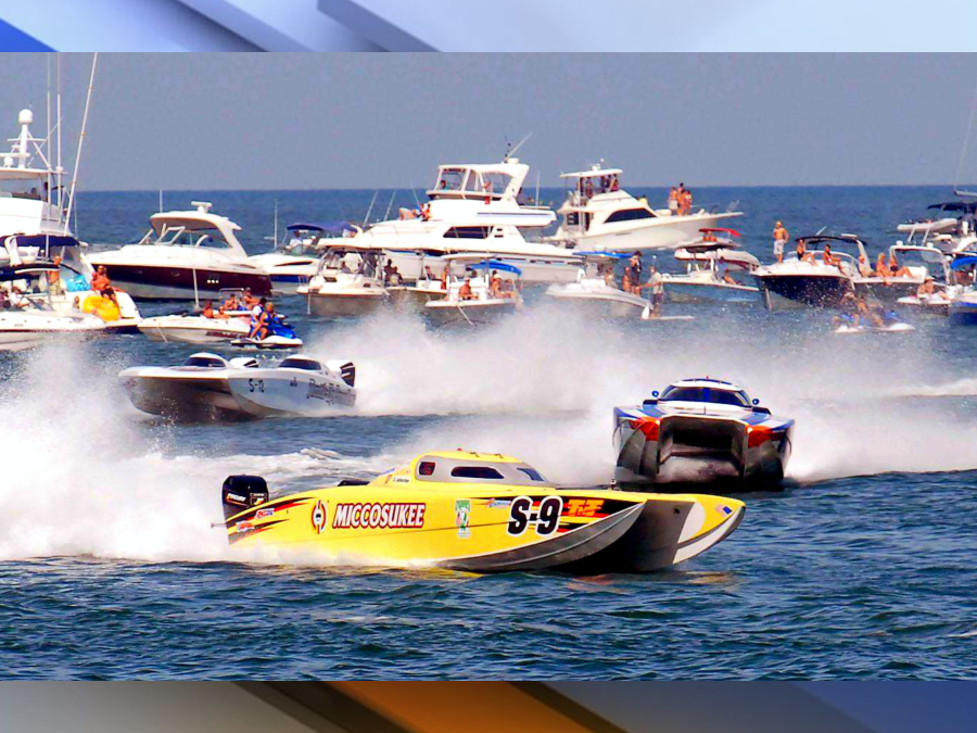 clearwater super boat race will go on despite red tide