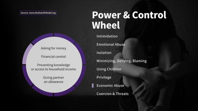 Financial Abuse on the Wheel of Power and Control - Taking Action…