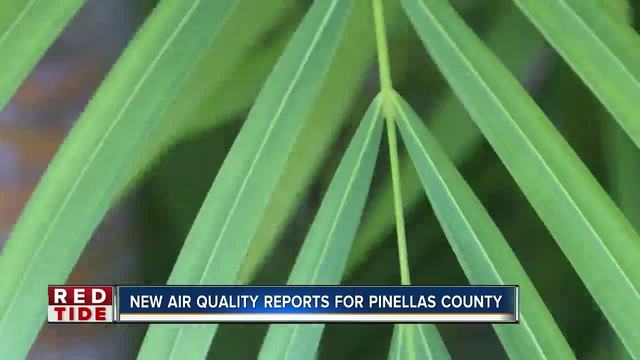 Pinellas County to launch new- first of its kind red tide air quality report