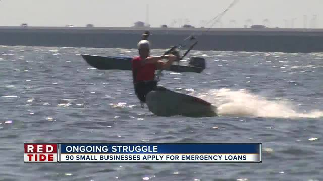 90 small businesses apply for emergency loan due to red tide struggles