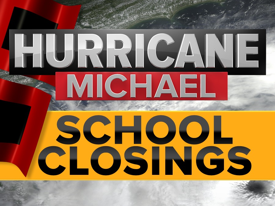 Official List School Closings Due To Hurricane Michael Abcactionnews Com Wfts Tv
