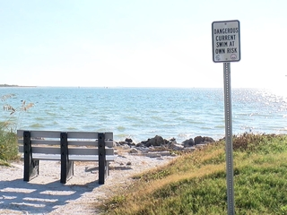 Mothers dies saving her kids from rip current