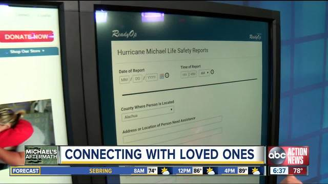 How to check on your loved ones and mark yourself as -safe and well-…