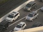 Drivers using shoulder on Selmon Expressway