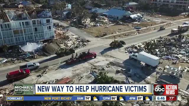 Business owners give back to hurricane victims