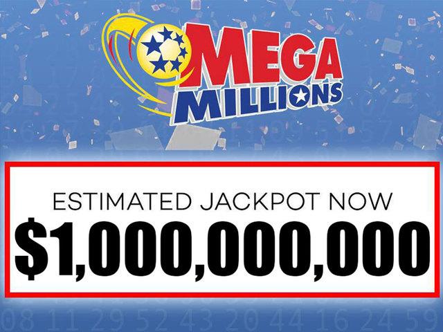 $1 billion Mega Millions winning numbers for Friday ...