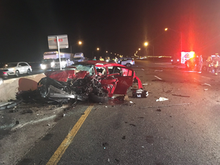 Wrong-way driver killed on Howard Frankland