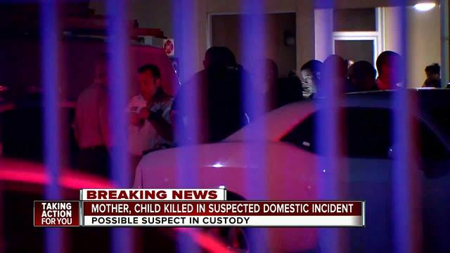 Homicide investigation at apartment complex