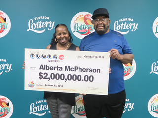 Hudson woman claims $2 million Powerball prize