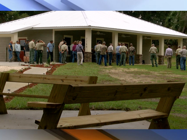 'Operation Outdoor Freedom' opens American Pride Lodge for wounded veterans