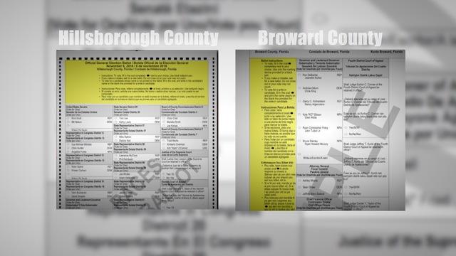 Broward County's ballot debacle: Is ballot design to blame ...