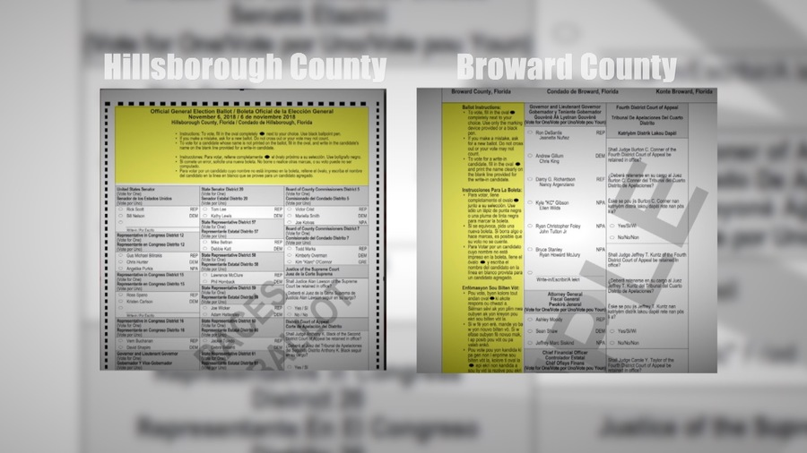 Broward Countys Ballot Debacle Is Ballot Design To Blame