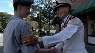 Young and old military members find special bond