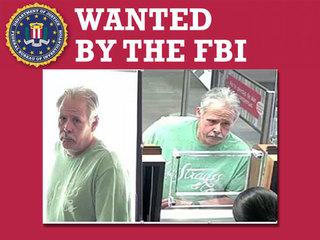 FBI searching for suspected serial bank robber