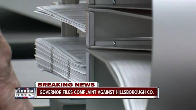 Scott files lawsuit against Hillsborough Co-